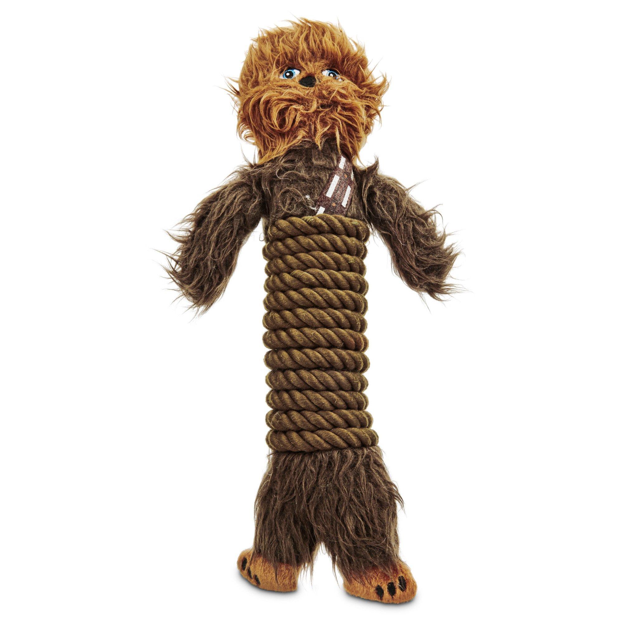 STAR WARS Chewbacca Rope Wrap Dog Toy