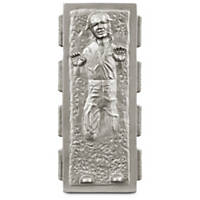 STAR WARS Han Solo in Carbonite Vinyl Dog Toy