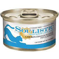 Soulistic Pate & Shreds Chicken Dinner Adult Canned Cat Food in Gelee