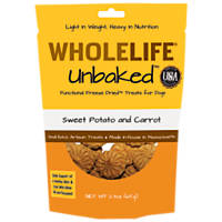 Whole Life Pets Unbaked Sweet Potato Carrot Freeze Dried Dog Treat