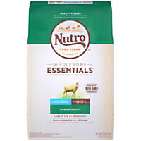 Nutro Limited Ingredient Diet Lamb & Rice Large Breed Adult Dog Food Recipe
