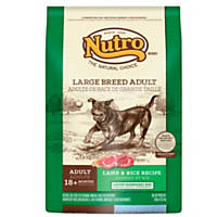 Nutro L.I.D. Lamb & Rice Large Breed Adult Dog Food