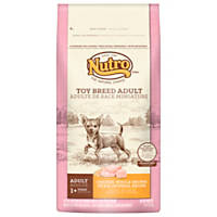 Nutro Natural Choice Chicken, Whole Brown Rice & Oatmeal Toy Breed Adult Dog Food