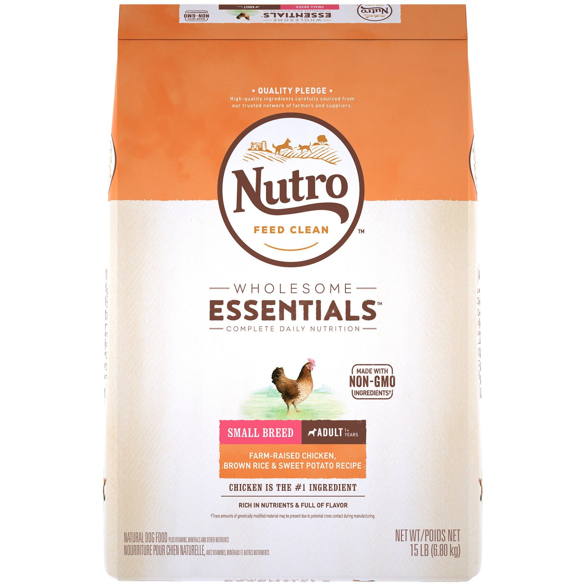 Nutro Natural Choice Small Breed Adult Dog Food