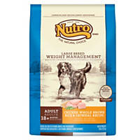 Nutro Weight Management Chicken, Whole Brown Rice & Oatmeal Large Breed Adult Dog Food