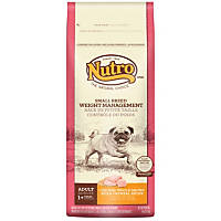 Nutro Natural Choice Weight Management Chicken, Whole Brown Rice & Oatmeal Small Breed Adult Dog Food