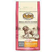 Nutro Natural Choice Chicken, Whole Brown Rice & Oatmeal Small Breed Senior Dog Food