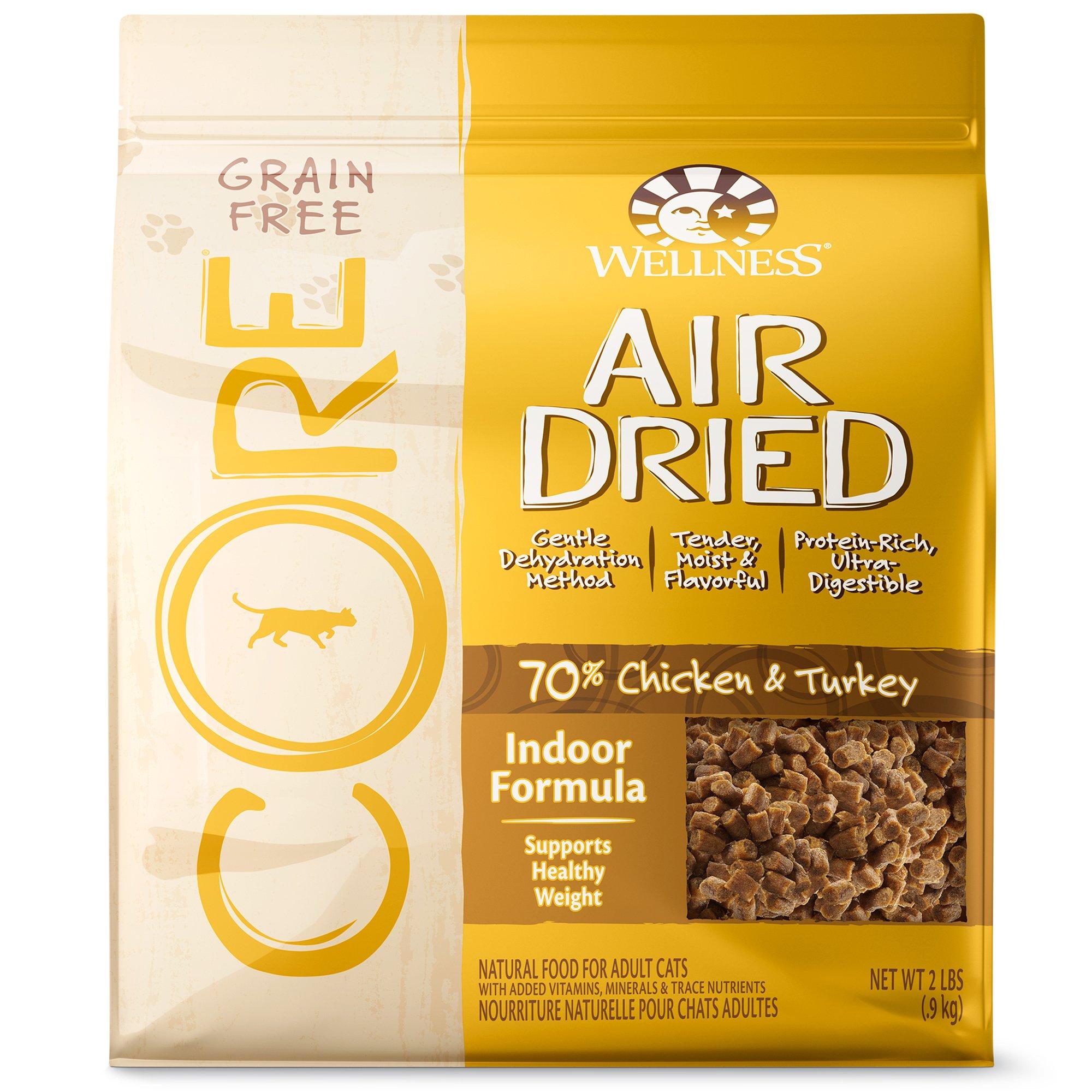 Wellness CORE Air Dried Chicken & Turkey Indoor Grain Free Adult Cat Food