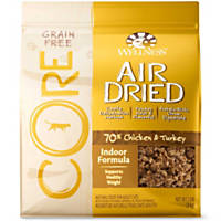 Wellness CORE Air Dried Chicken & Turkey Indoor Grain Free Adult Cat Food