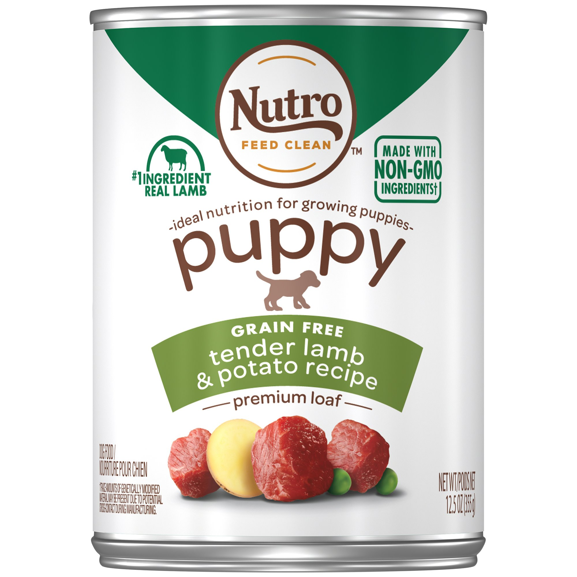 Nutro Lamb & Rice Canned Puppy Food