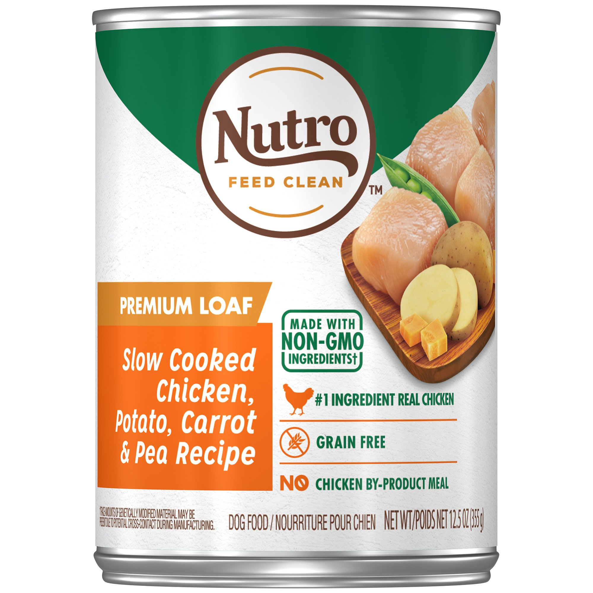 Nutro Chicken, Rice & Oatmeal Adult Canned Dog Food