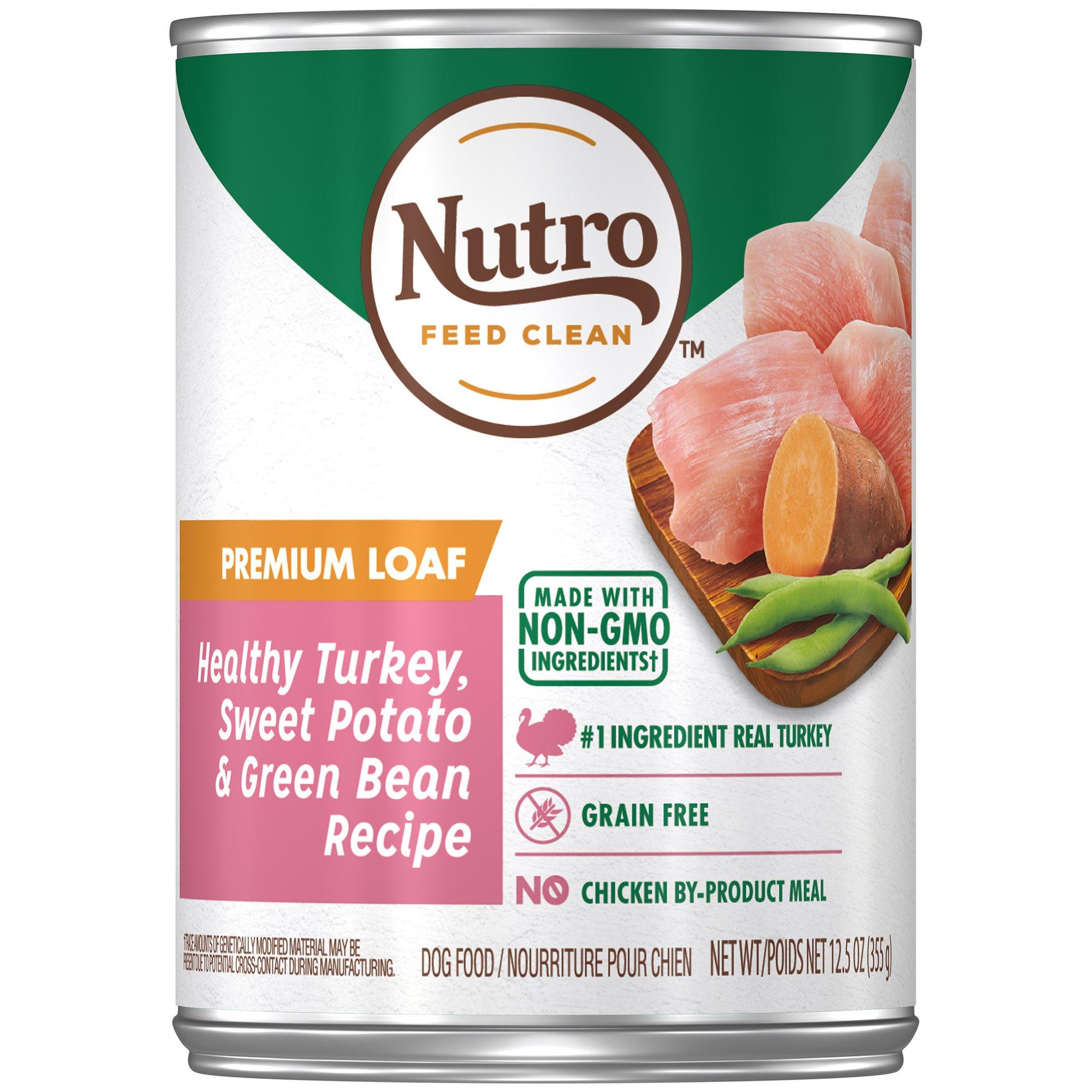 Nutro Roasted Turkey & Rice Senior Canned Dog Food