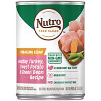 Nutro Natural Choice Turkey & Rice Senior Canned Dog Food