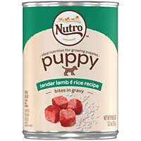 Nutro Lamb & Rice Large Breed Canned Puppy Food