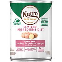 Nutro Natural Choice Grain Free Turkey & Potato Adult Canned Dog Food