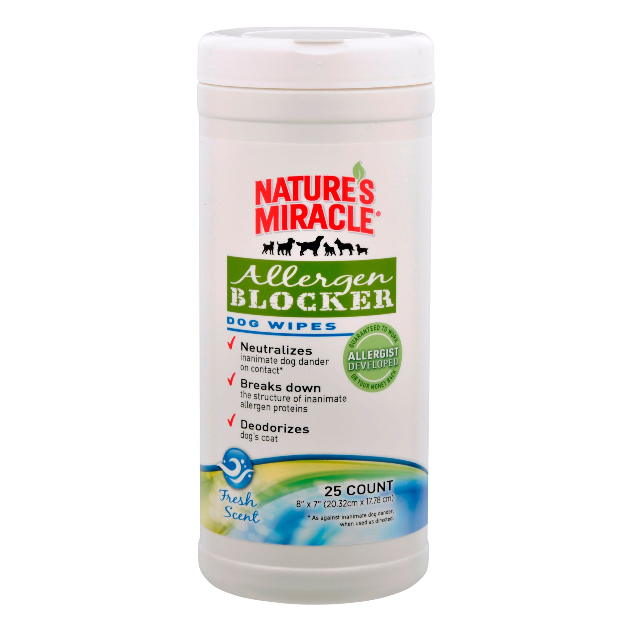 Nature's Miracle Allergen Blocker Household Wipes