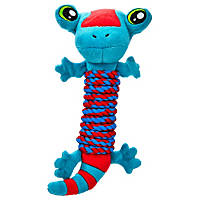 Leaps & Bounds Lizard Rope Wrap Dog Toy