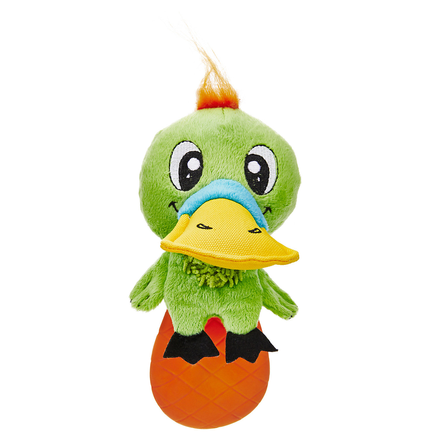 Leaps Bounds Swampy Platypus Dog Toy Medium
