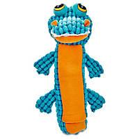 Leaps & Bounds Nubby Gator Bottle Dog Toy