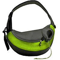 Wacky Paws Large Pet Sling Pet Carrier in Green