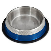 Harmony Blue Etched No-Tip Stainless Steel Bowl