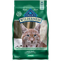 Blue Buffalo Wilderness Duck Recipe Adult Cat Food