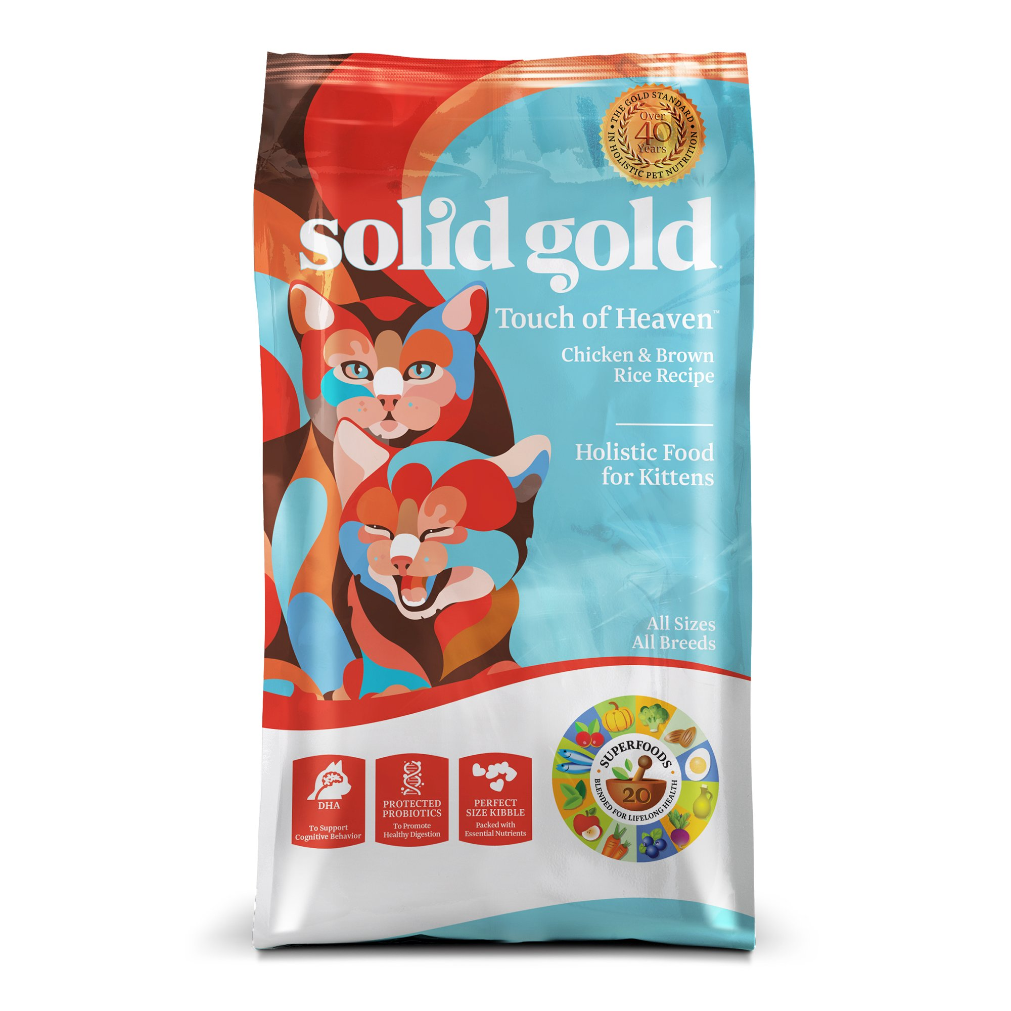 Solid Gold Touch of Heaven Chicken & Brown Rice Dry Kitten Food