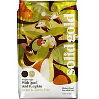 Solid Gold Winged Tiger Quail & Pumpkin Grain Free Adult Cat Food, 11 lbs.
