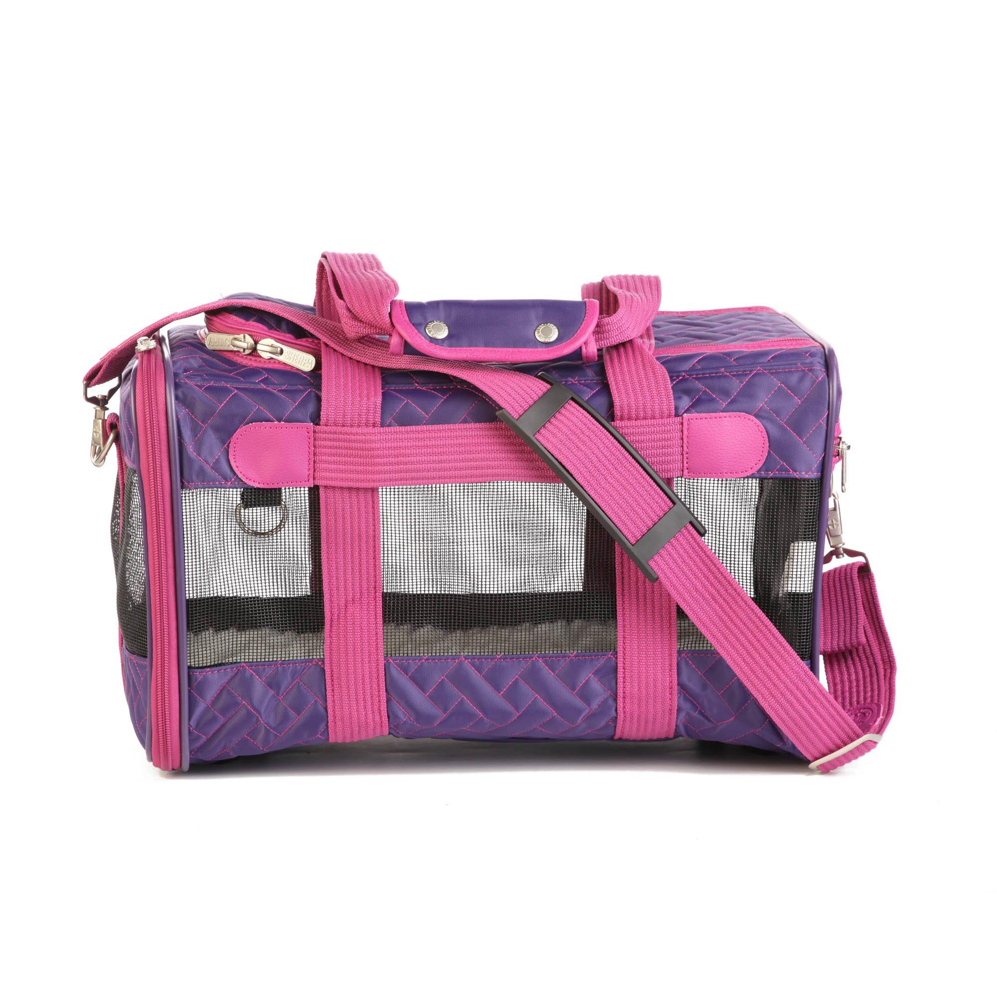 Sherpa Original Purple & Pink Dog Carrier