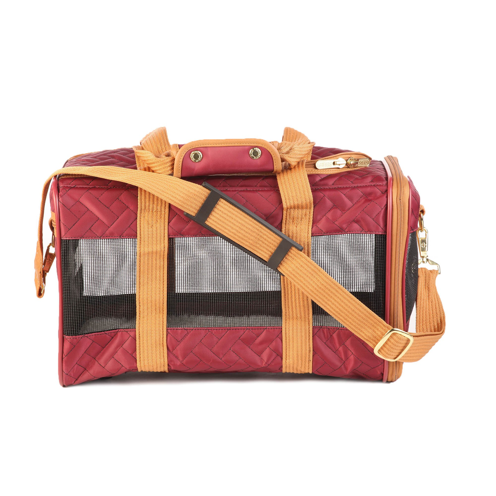 Sherpa Original Red & Orange Dog Carrier
