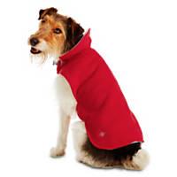 Good2Go Red & Gray Reversible Cozy Coat Dog Jacket