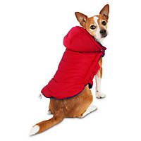 Good2Go Red Quilted Dog Parka