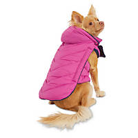 Good2Go Pink Quilted Dog Parka