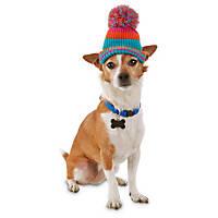 Good2Go Striped Knit Dog Hat