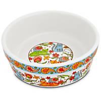 Harmony Paisley Cat Bowl