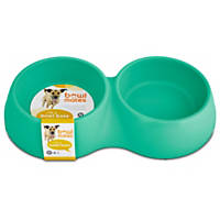Bowlmates by Petco Mint Double Round Base