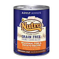 Nutro Natural Choice Grain Free Fish & Potato Adult Canned Dog Food