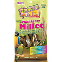 Brown's Tropical Carnival Natural Mini Spray Millet Bird Treats