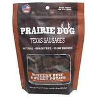 Prairie Dog Texas Sausages Western Beef & Sweet Potato Dog Treats