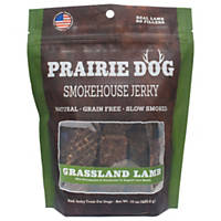 Prairie Dog Smokehouse Jerky Grassland Lamb Dog Treats