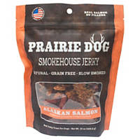Prairie Dog Smokehouse Jerky Alaskan Salmon Dog Treats