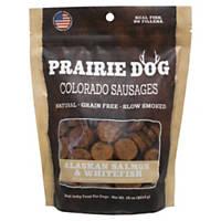 Prairie Dog Colorado Sausages Alaskan Salmon & Whitefish Dog Treats