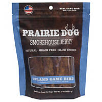 Prairie Dog Smokehouse Jerky Upland Game Bird Dog Treats