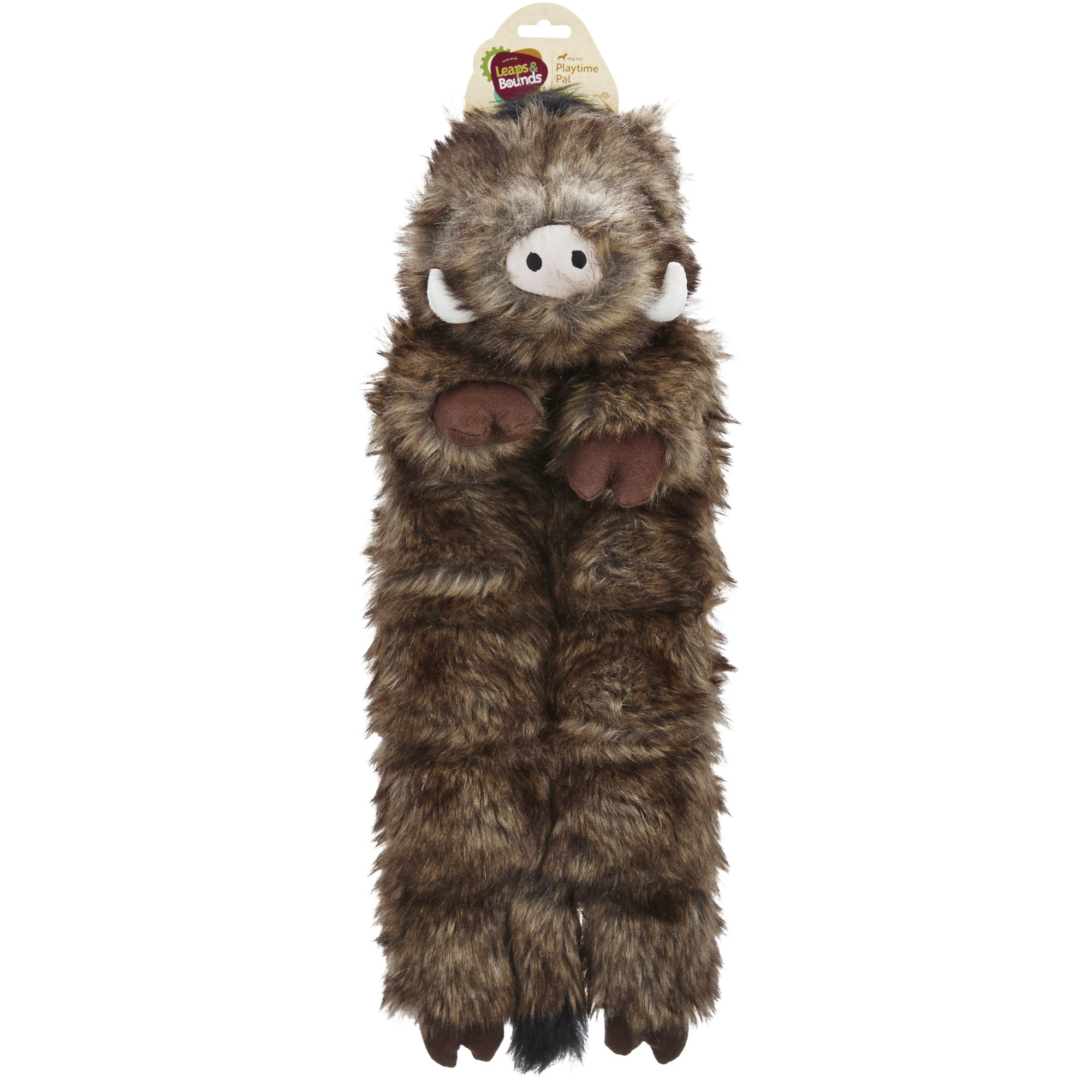 Leaps &  Bounds X-Large Wildlife Squeaker Mat Toy