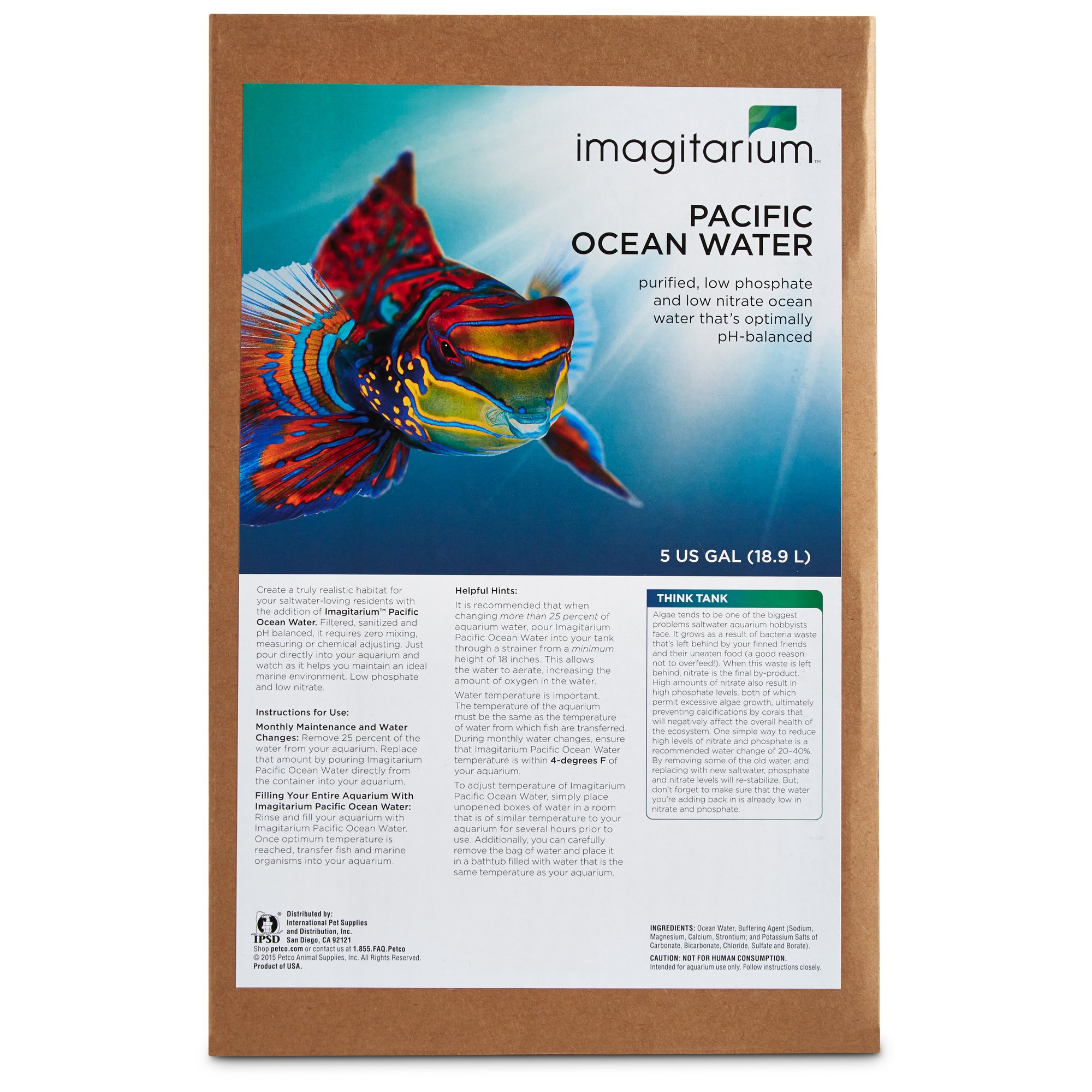 Imagitarium Pacific Ocean Water