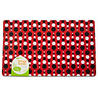 Bowlmates by Petco Fashion Prints Red Placemat