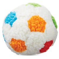 Leaps & Bounds Small Sherpa Soccer Ball Plush Toy