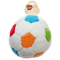 Leaps &  Bounds Sherpa Soccer Ball Plush Toy