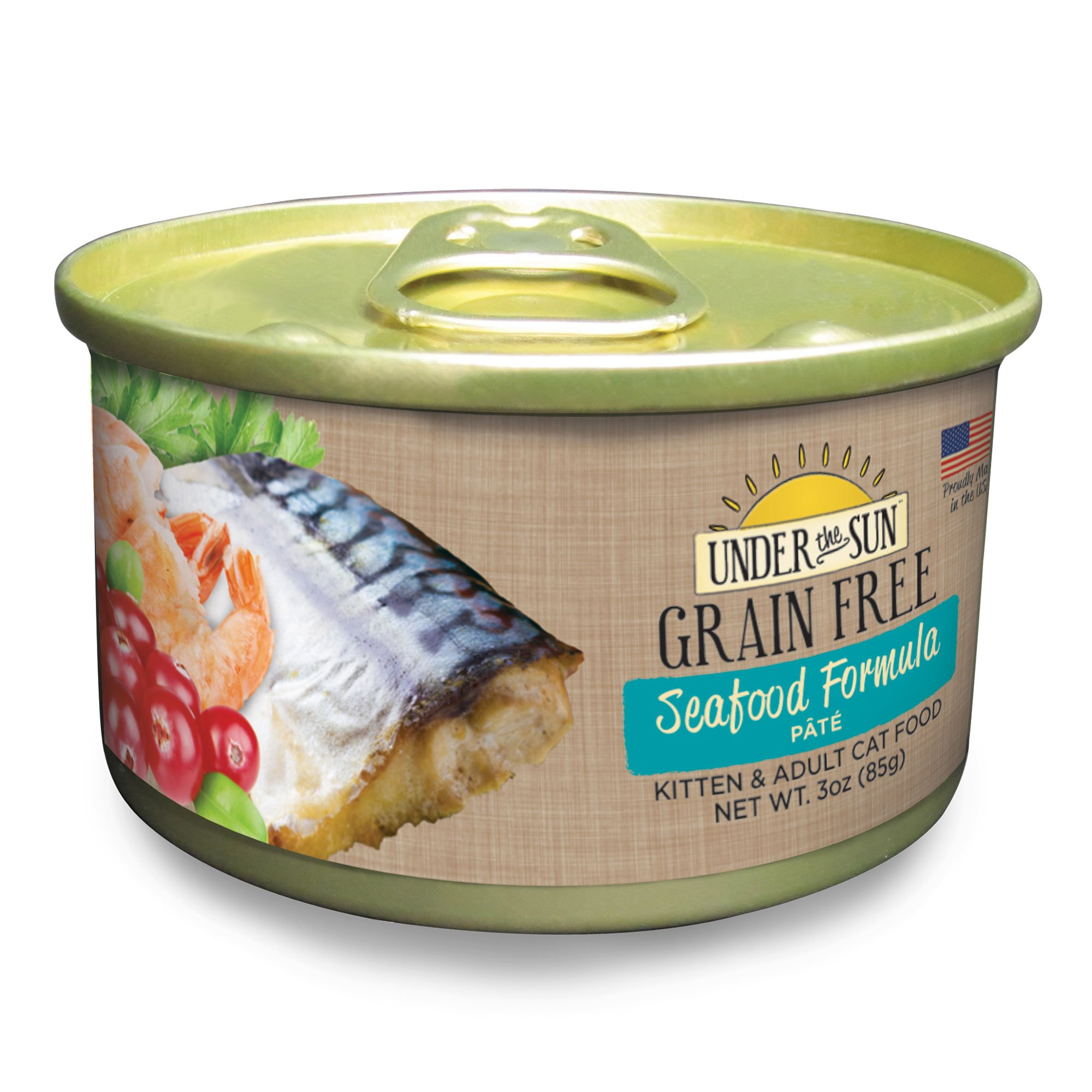 Under The Sun Grain Free Seafood Kitten & Adult Canned Cat Food