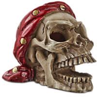 Imagitarium Pirate Skull with Bandana Aquatic Decor